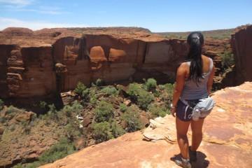 Kings Canyon, no deserto da Austrália
