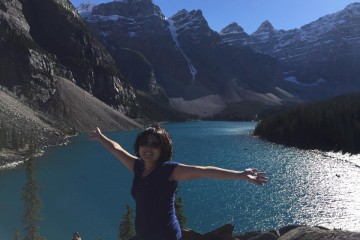 Vancouver Tami_Rocky Mountains (Moraine Lake)