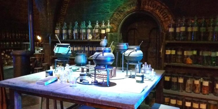 Pri Harry Potter_sala pocoes